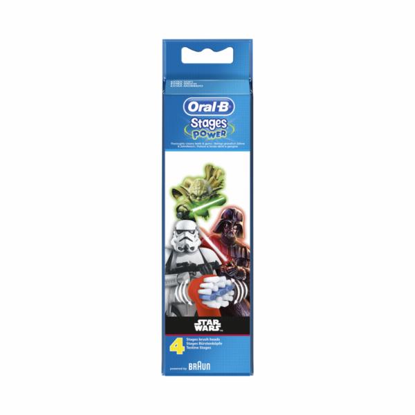 Braun Oral-B Toothbrush heads StarWars 4 pcs.