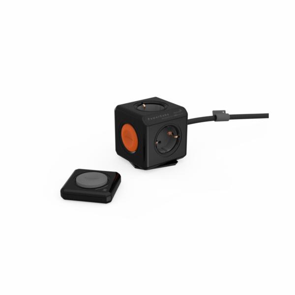 allocacoc Extended Remote vc. Kabel Set + Fernbed Type F cerna