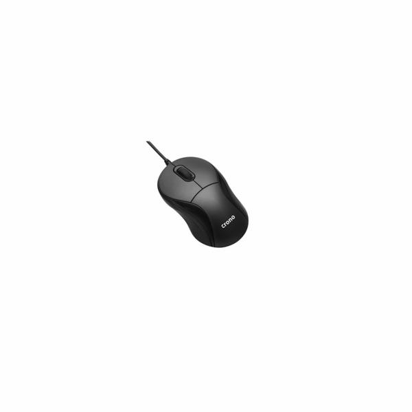 Crono OP-635 optická mini myš, cestovní, navíjecí USB, DPI 1000