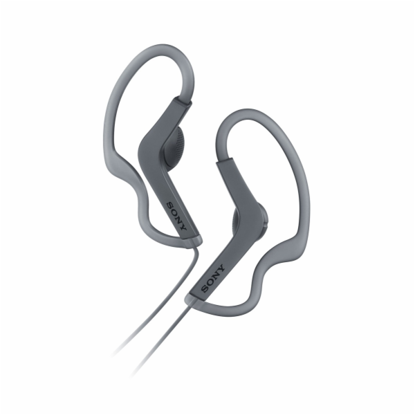 SONY MDR-AS210 Sportovní sluchátka s klipem - Black