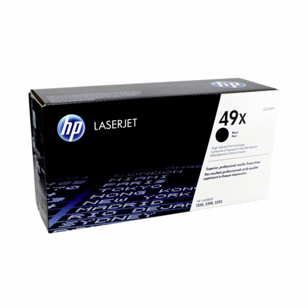 HP Toner Q 5949 X black 49 X