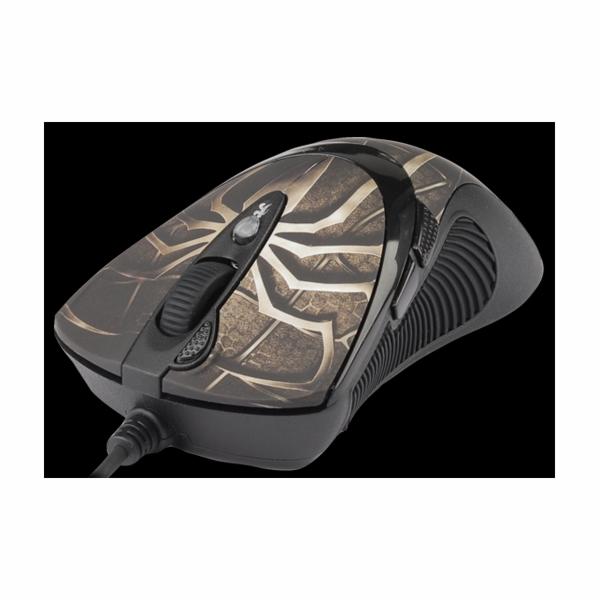 A4tech XL-747H, Game Laser mouse, 3600DPI, ANTI-VIBRATE, nastavitelná váha, USB, modrá