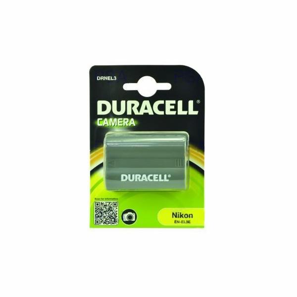 DURACELL Baterie - DRNEL3 pro Nikon EN-EL3, černá, 1400 mAh, 7.4 V