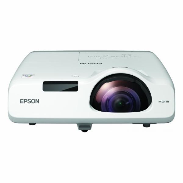 EPSON projektor EB-520, 1024x768, 2700ANSI, HDMI, VGA, LAN, SHORT, 10.000h ECO životnost lampy, REPRO 16W