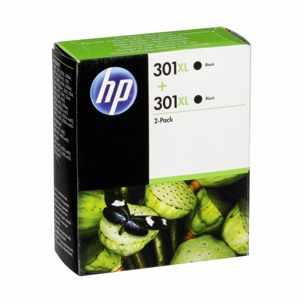 HP D8J45AE ink cartridge black No. 301 XL twin pack