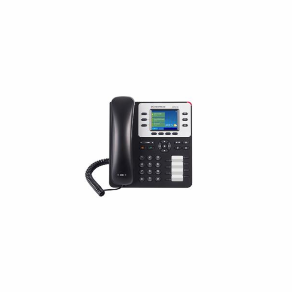 Grandstream GXP2130, IP-Phone 3-lines, Color-LCD, 7-BLF- Gigabit port