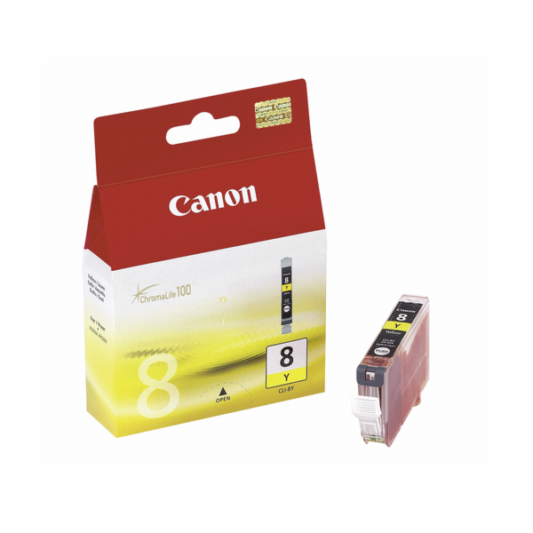 3 Canon CLI-8 Y yellow