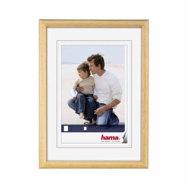 Hama Oregon nature 7x10 Wooden Frame 64552