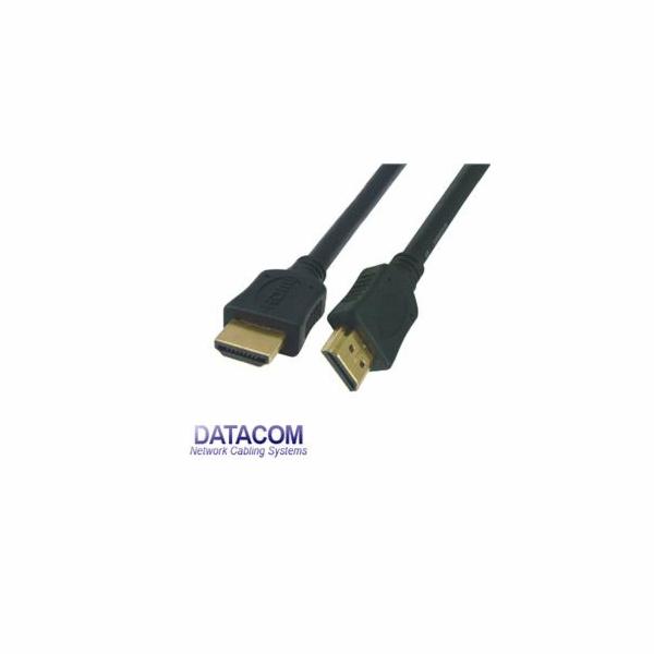 DATACOM HDMI-HDMI 1.4 5m černý