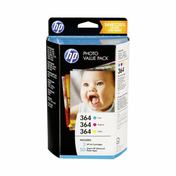 HP T9D88EE Photo Value Pack C/M/Y No. 364 Advanced Photo