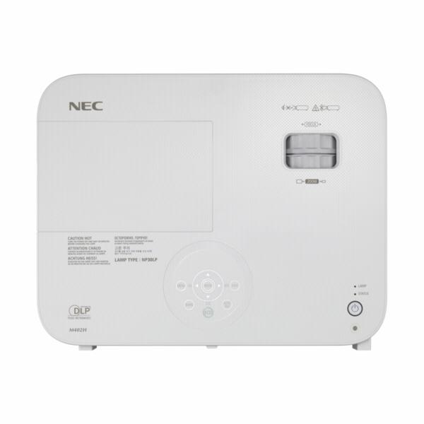 NEC M403H Business DLP Projektor (FullHD, 4000 ANSI-Lumen, HDMI, LAN) Wlan-Ready