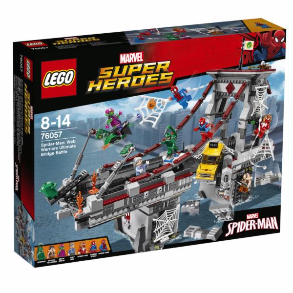 Lego Super Heroes Spiderman: Úžasný souboj pavoučích válečníků na mostě