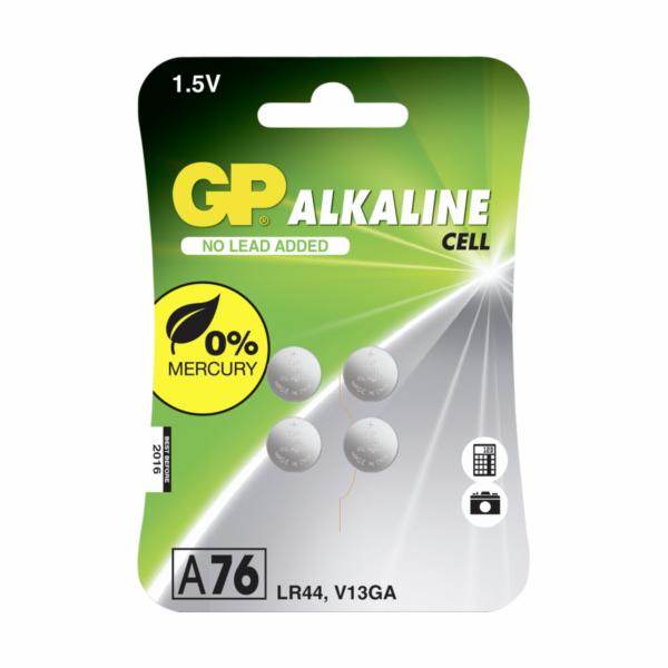 1x4 GP Alkaline LR44 A76