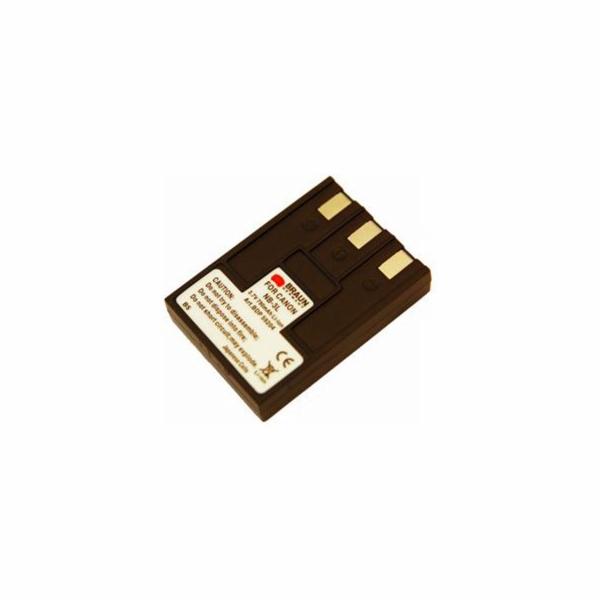 Braun akumulátor CANON NB-3L, 790mAh