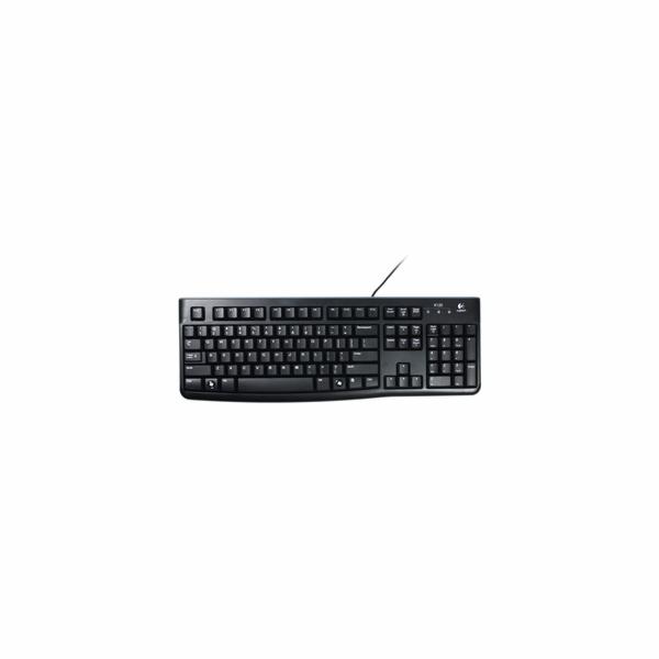 Klávesnice Logitech K120 for busines CZ, USB, černá