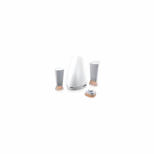 GENIUS repro Lumina/ 2.1/ 25W/ bílé/ dálkové ovládání
