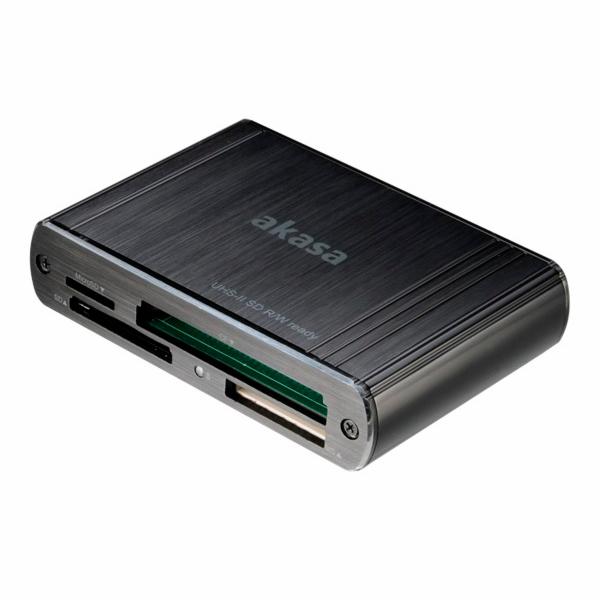 AKASA externí čtečka USB 3.0 SD 4.0