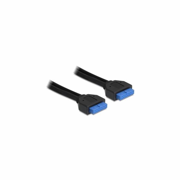 Delock kabel interní 19pin USB 3.0 samice/samice, 45 cm