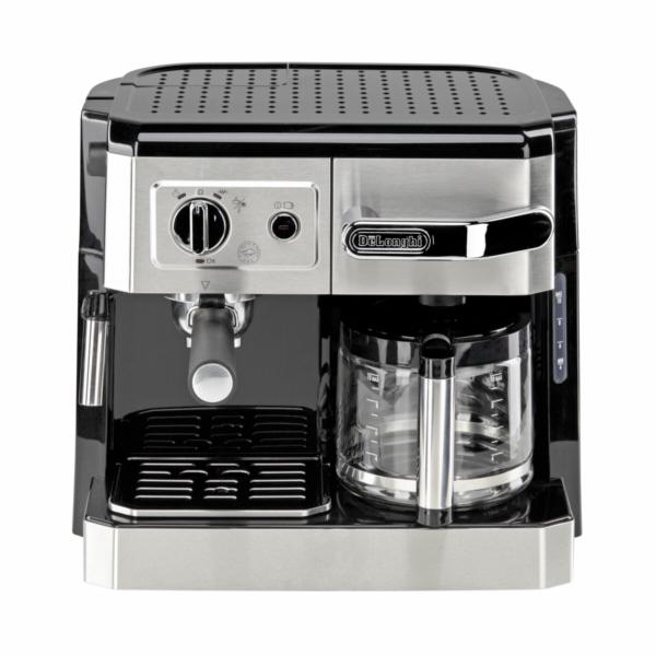 Kávovar DéLonghi BCO 420 černý-stříbrný