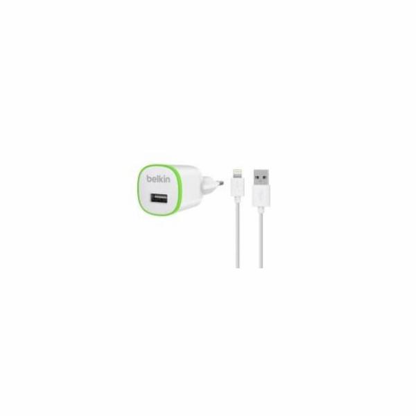 Belkin USB 230V nabíječka s Lightning kabelem 1A - bílá