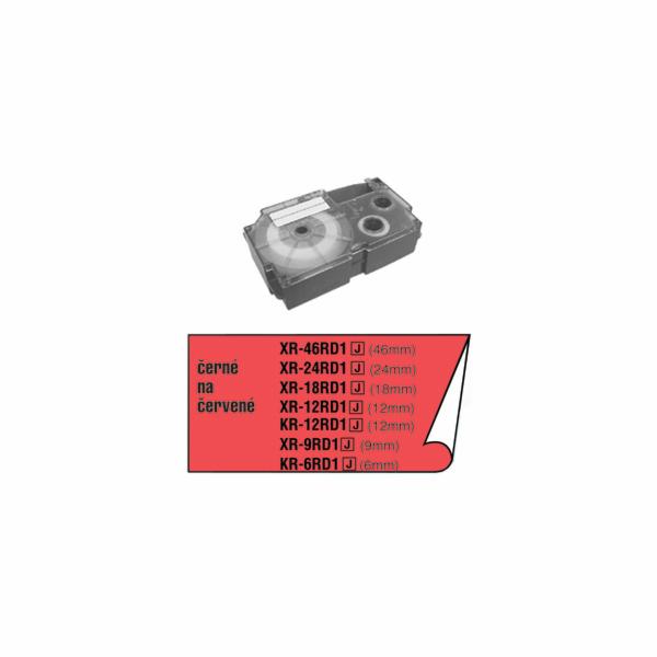 Barvící páska Casio XR 6 RD1 / KR 6 RD1