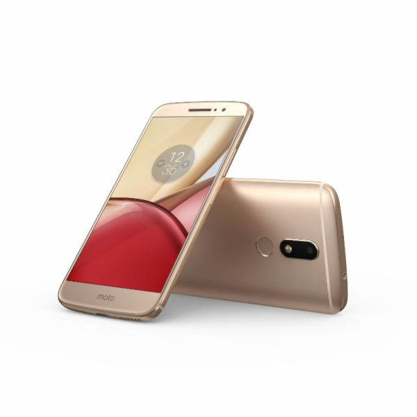 "Lenovo Moto M Dual SIM/5,5"" IPS/1920x1080/Octa-Core/1,8GHz/3GB/32GB/16Mpx/LTE/Android 6.0/Gold"