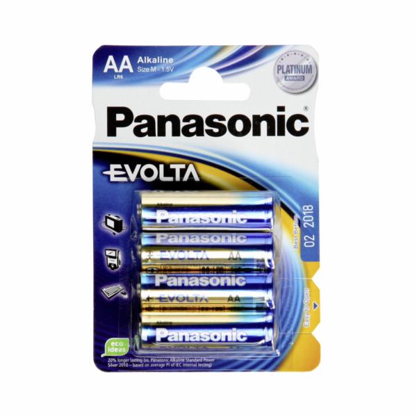 Baterie Panasonic Evolta LR6 AA Mignon 12x4 ks