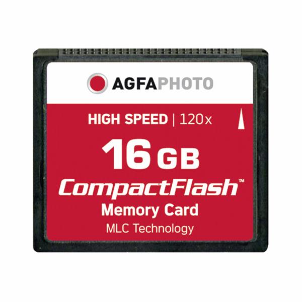 Paměťová karta AgfaPhoto Compact Flash 16GB