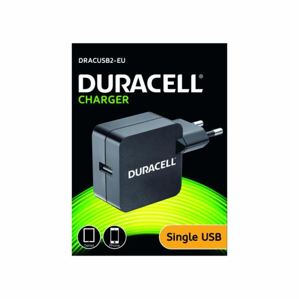 Duracell USB Nabíječka pro tablety & telefony 2,4A