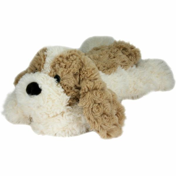 Pes plyšový ležící 30cm