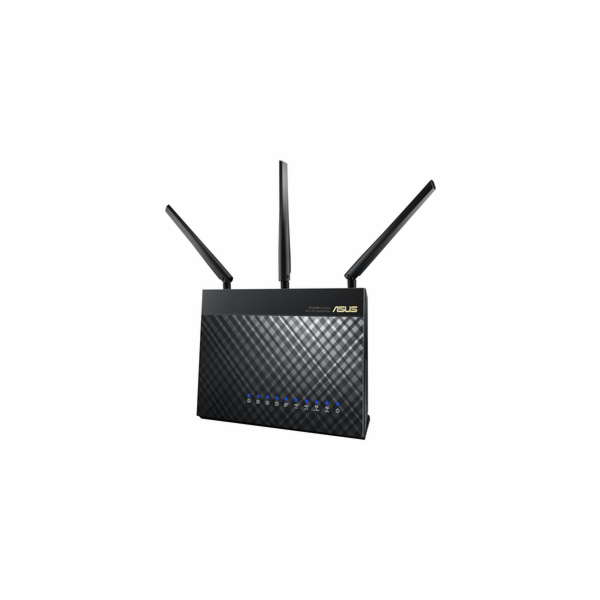 ASUS RT-AC68U, AC1900 dvoupásmový Gigabit WiFi Router, AiMesh pro wifi Mesh systémy, zabezpečení AiProtection