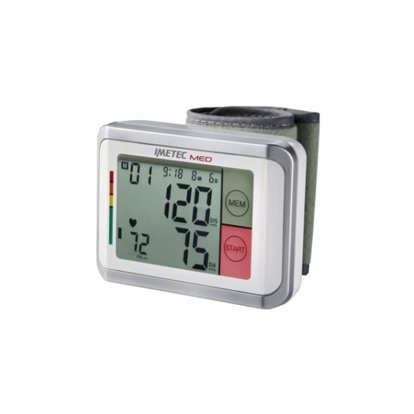 5729 BP1/100 Tlakoměr zápěsť.LCD display