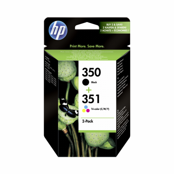 HP SD 412 EE inkoustova patrona c. 350 a 351