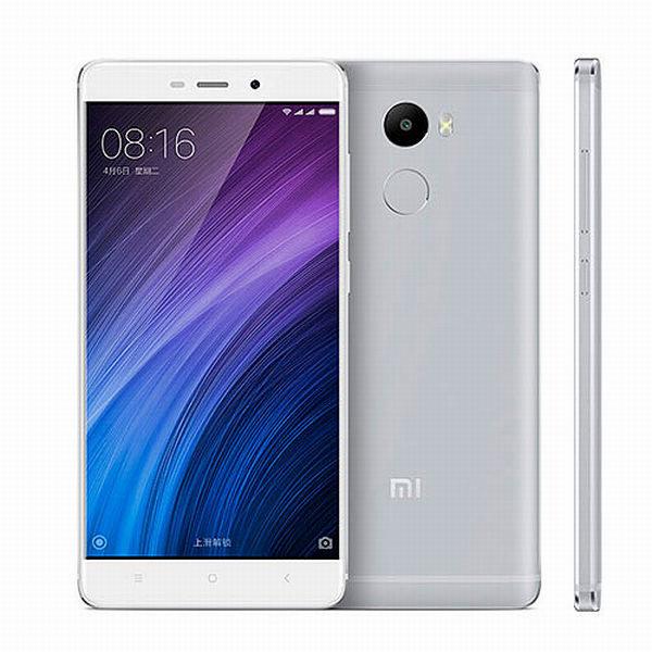 Xiaomi Redmi 4 PRO Silver/ 5´´ FullHD 1920x1080/2GHz OC/3GB/32GB/SD/2xSIM/FP/13MPx/4100mAh