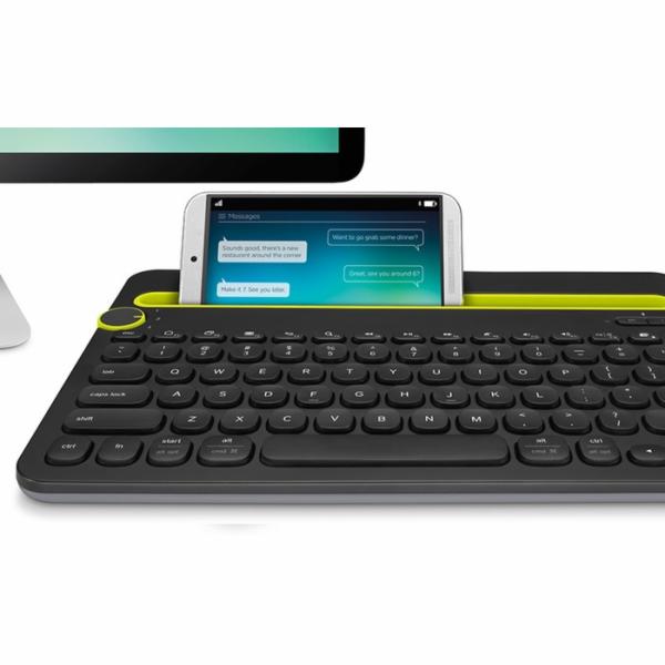 Logitech kláv. Bluetooth Multi-Device Keyboard K480 US, černá