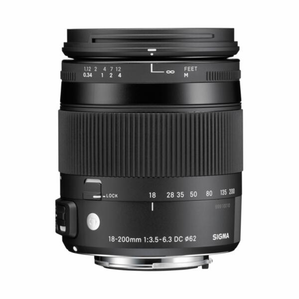 Objektiv Sigma DC 3,5-6,3/18-200 OS HSM pro Canon