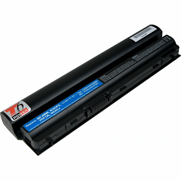 Baterie T6 power Dell Latitude E6220, E6230, E6320, E6330, E6430s, 6cell, 5200mAh