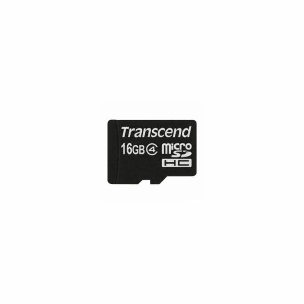 Paměťová karta Transcend MicroSD Class 4 16GB