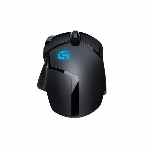 Logitech myš G402 Hyperion Fury FPS Gaming Mouse, laserová, 8 prog. tlač., 1ms odezva