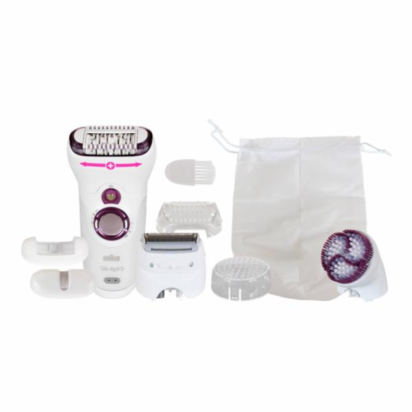 Epilátor Braun Silk épil 9-961 Wet&Dry SkinSpa