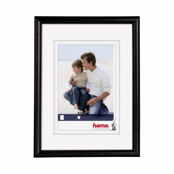 Hama Oregon black 7x10 Wooden Frame 64642