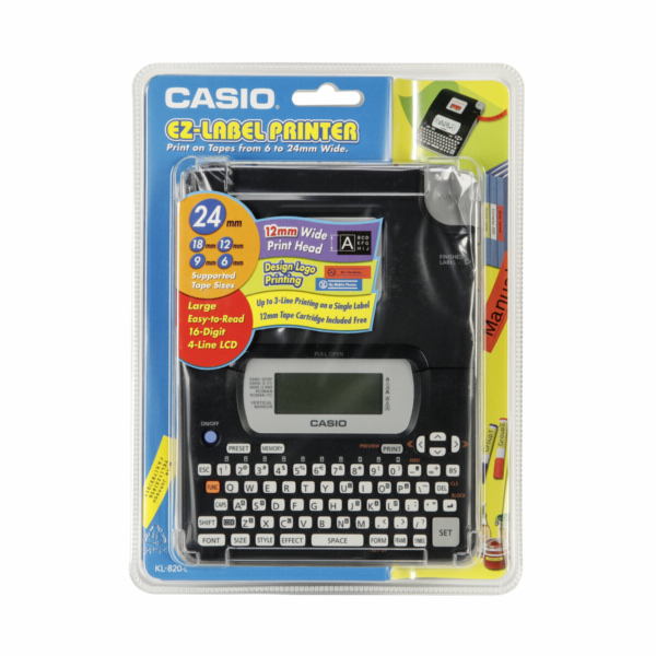 Popisovač Casio KL 820 NEW