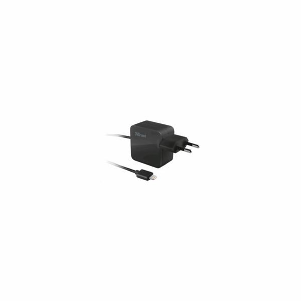 TRUST USB nabíječka Wall Charger 12W s Lightning kabelem (5V/2,1A)