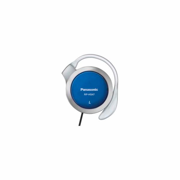 Sluchátka Panasonic RP-HS 47 E-A modré