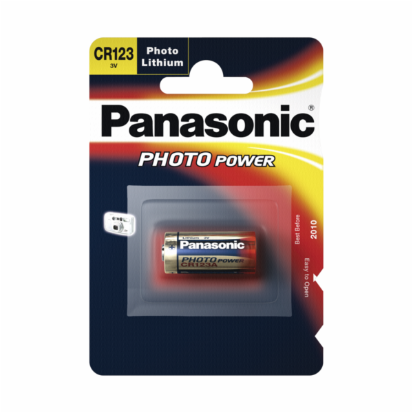 Baterie Panasonic Photo CR-123 A VPE 100ks