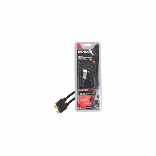 Kabel Sencor SAV 166-025 HDMI M-M 2,5m v1.4 P