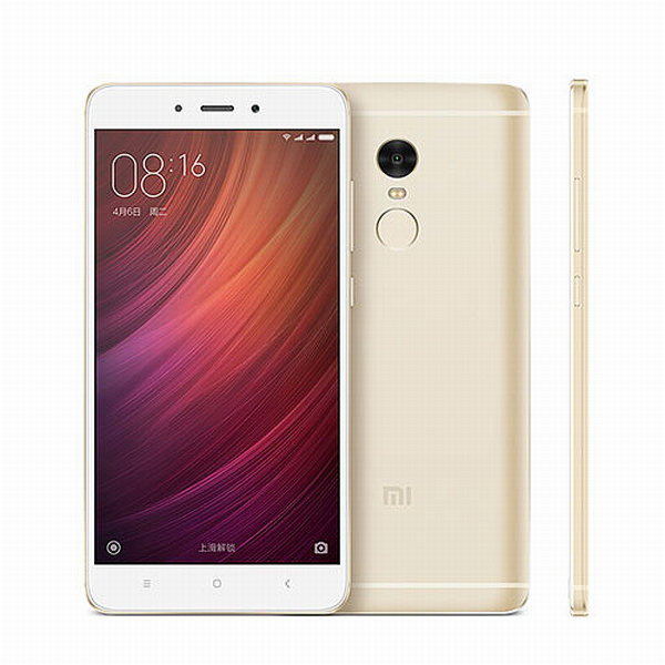 Xiaomi Redmi Note 4 Gold/ 5,5´´ 1920x1080/2,1GHz DeC/2GB/16GB/2xSIM/FP/13MPx/4100mAh