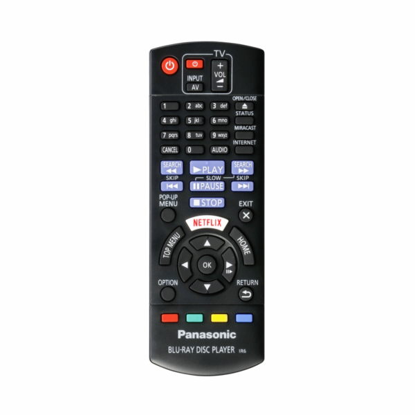 Panasonic DMP-BDT167EG cerna