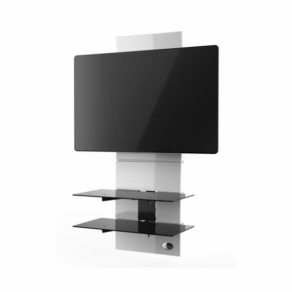 488301 WH Nástěný držák TV+kompon.