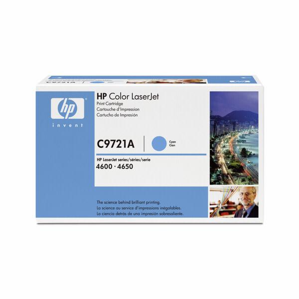 C9721A Toner Cyan Color LaserJet 4600/4650